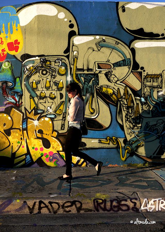 By The Graffiti